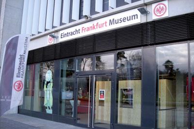 Das Eintracht-Museum hat dienstags bis sonntags von 10 bis 18 Uhr geöffnet (Foto: M.Kneifl)