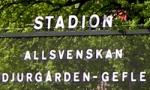 Spielankündigung Djurgarden (Foto: M.Kneifl)