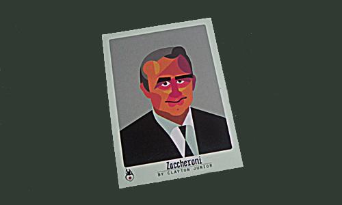 Japans italienischer Trainer Alberto Zaccheroni ist einer der 14 ausländischen Trainer bei dieser WM: Illustriert im grandiosen tschuttiheft.li