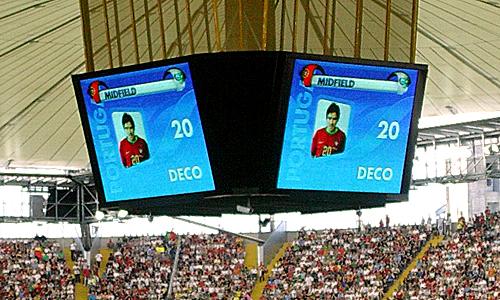 Deco, einer der gebürtigen Brasilianer, lief bei der WM 2006 für Portugal auf. (Quelle: M. Kneifl)