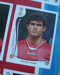 Ich trage einen großen Namen: Yeltsin Tejeda!