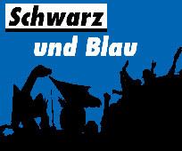 Das Erkennungszeichen des informativen Blogs über den SC Paderborn 07 (Quelle: schwarzundblau.com)