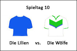 Die-Lilien-vs-Die-Wölfe