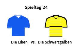 Die-Lilien-vs.-Die-Schwarzgelben
